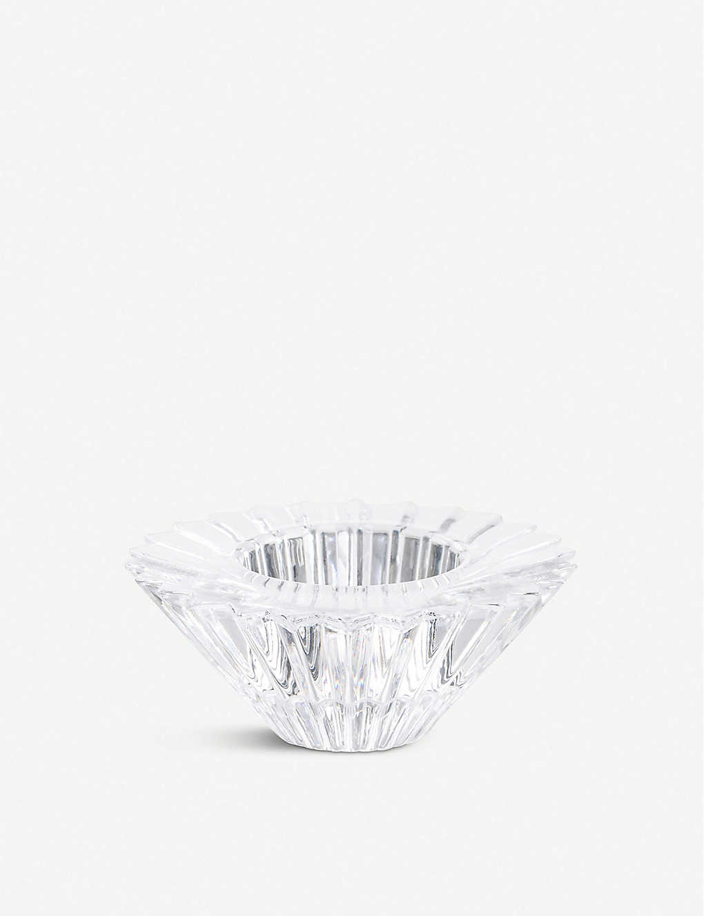 THE CONRAN SHOP: Simone Cagnazzo crystal tealight holder 4cm