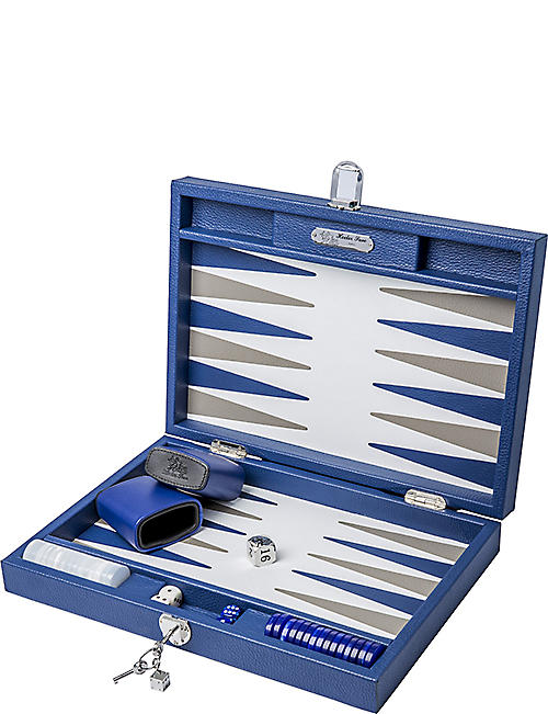 THE CONRAN SHOP Hector Saxe backgammon set