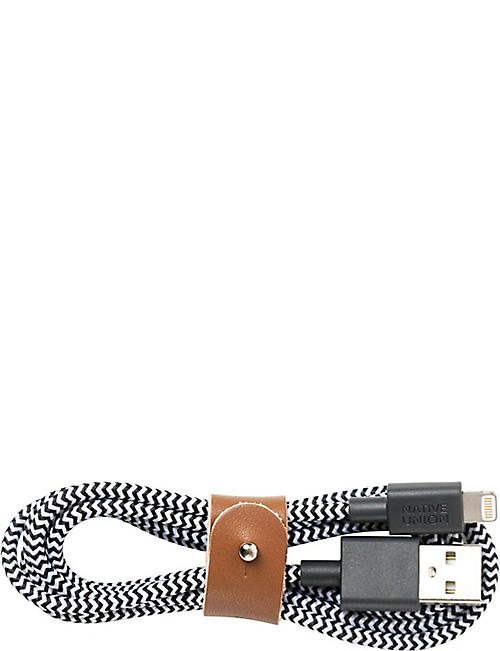 THE CONRAN SHOP Native Union BELT lightning usb cable
