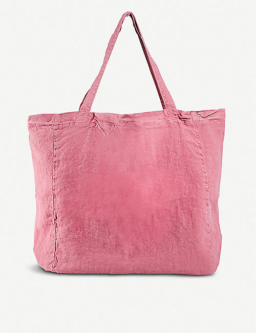 THE CONRAN SHOP Oversized Linen Tote Bag