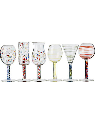 THE CONRAN SHOP: Massimo Lunardon Maggiolini licquor glasses set of six
