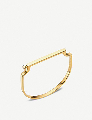 MONICA VINADER Signature 18ct yellow-gold vermeil bangle