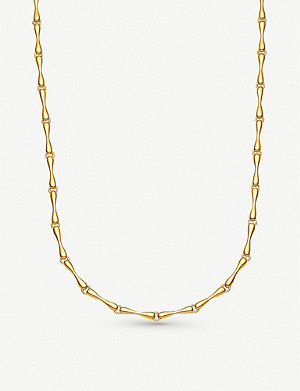 MONICA VINADER Nura 18ct yellow-gold vermeil on sterling silver reef necklace