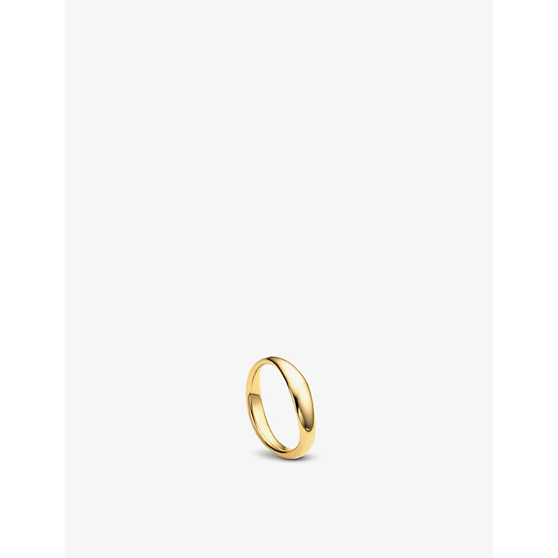 MONICA VINADER | Nura Reef 18ct Yellow-Gold Vermeil Ring | Goxip