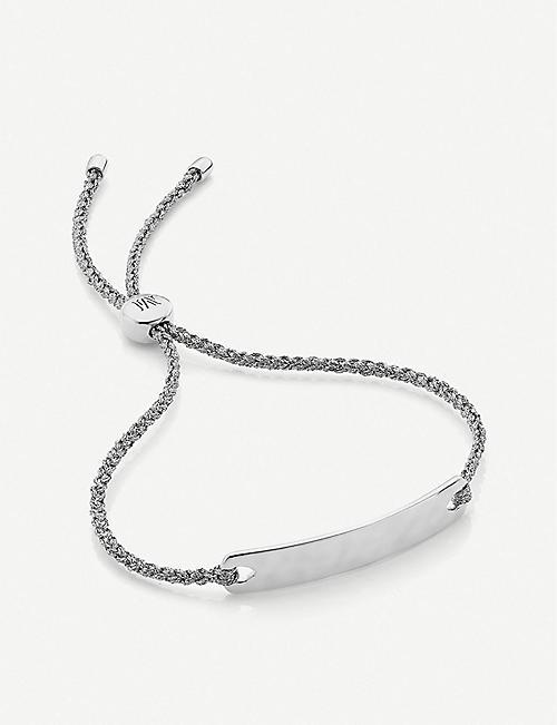 348cf063cf62 MONICA VINADER Havana Mini sterling silver friendship bracelet
