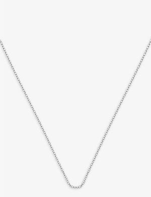 MONICA VINADER Sterling silver fine chain