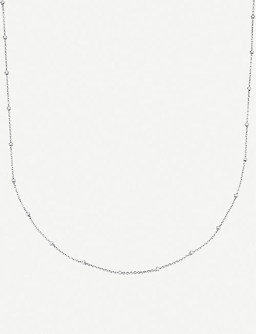 MONICA VINADER: Sterling silver chain necklace