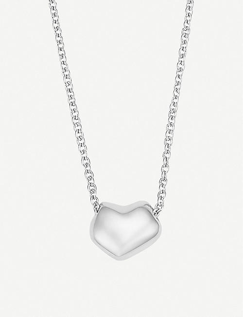 1293a2954d54 MONICA VINADER Nura Heart sterling silver necklace