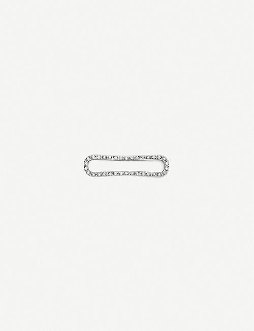 MONICA VINADER Alta Capture Charm silver and diamond link