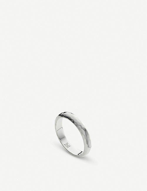 MONICA VINADER Havana sterling silver ring