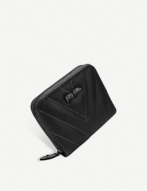 GAZELLE Style Row Continental faux-leather wallet