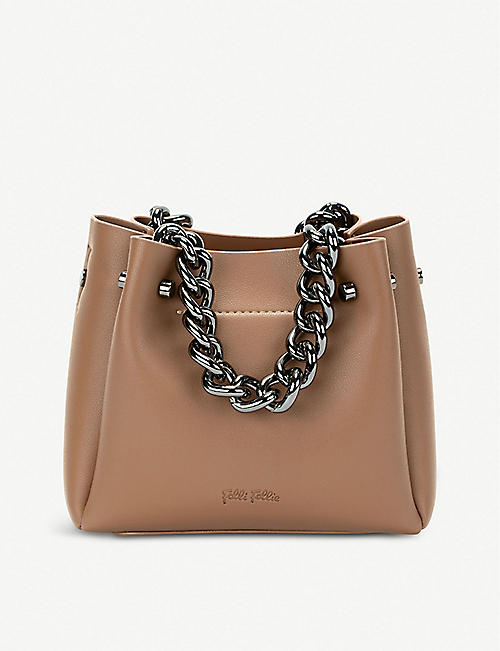 FOLLI FOLLIE City Vibes faux-leather top-handle bag