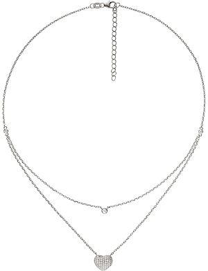 f73037372 FOLLI FOLLIE - Love & Fortune rose gold-plated necklace | Selfridges.com