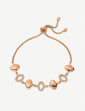 FOLLI FOLLIE Dream Princess rose gold-plated bracelet