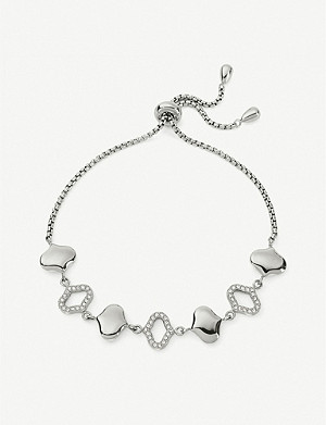 FOLLI FOLLIE Dream Princess silver-plated bracelet