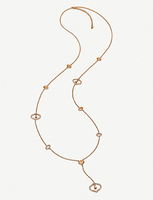 FOLLI FOLLIE Dream Princess rose gold-plated necklace
