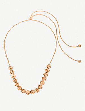 FOLLI FOLLIE Heart4Heart Blossom rose gold-plated necklace