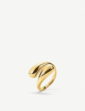 FOLLI FOLLIE Style Drops yellow gold-plated ring