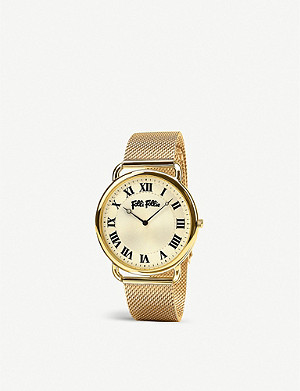 FOLLI FOLLIE Perfect Match gold-plated watch