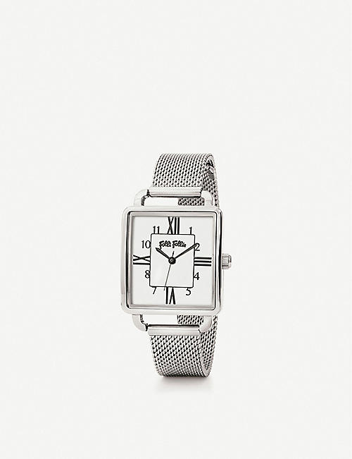 FOLLI FOLLIE Retro stainless steel watch