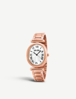FOLLI FOLLIE Metal Chic rose gold-plated watch