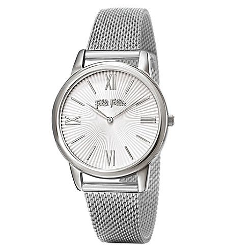 FOLLI FOLLIE Match Point Small silver-plated and stainless steel watch ( Silver 240b12a847b2