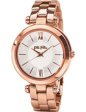 FOLLI FOLLIE WF16R009BPS_XX Lady Mubble Mini rose gold-plated stainless steel watch