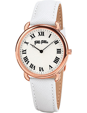 FOLLI FOLLIE Rose gold-plated perfect match mini watch