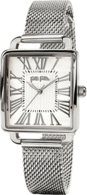 FOLLI FOLLIE WF16T012BPS_XX Retro stainless steel watch