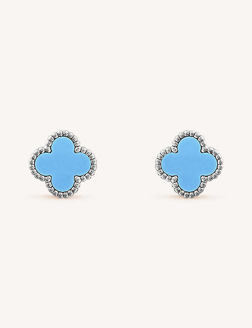 9cb6d1412 VAN CLEEF & ARPELS - Earrings - Fine Jewellery - Jewellery & Watches ...