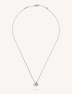 VAN CLEEF & ARPELS Frivole white-gold and diamond pendant