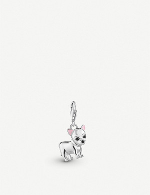 THOMAS SABO Chinese New Year sterling silver standing dog charm