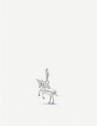 THOMAS SABO: Charm Club 3D sterling silver unicorn charm