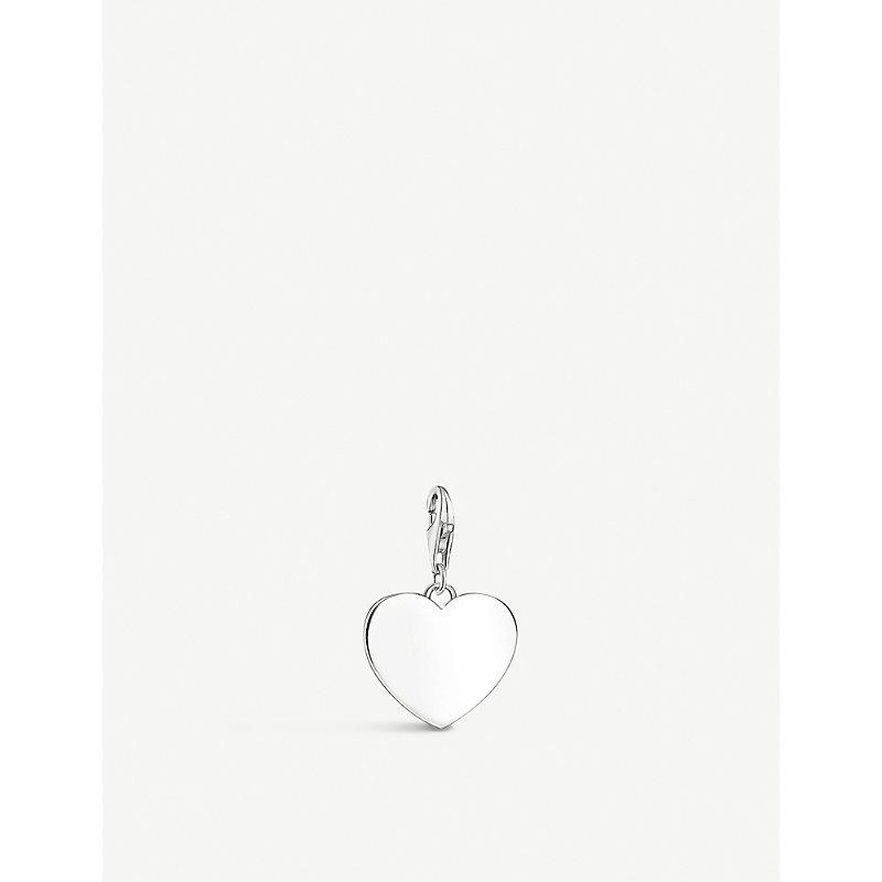 THOMAS SABO | Heart Sterling Silver Charm | Goxip