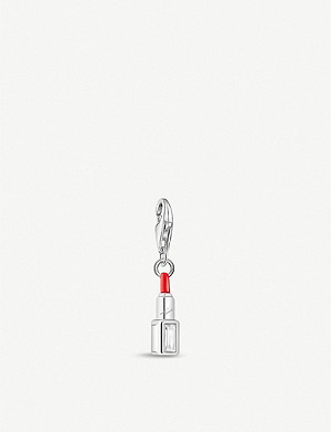 THOMAS SABO Lipstick sterling silver and zirconia charm