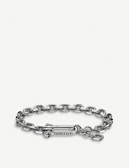 THOMAS SABO Iconic Chains sterling silver chunky chain bracelet