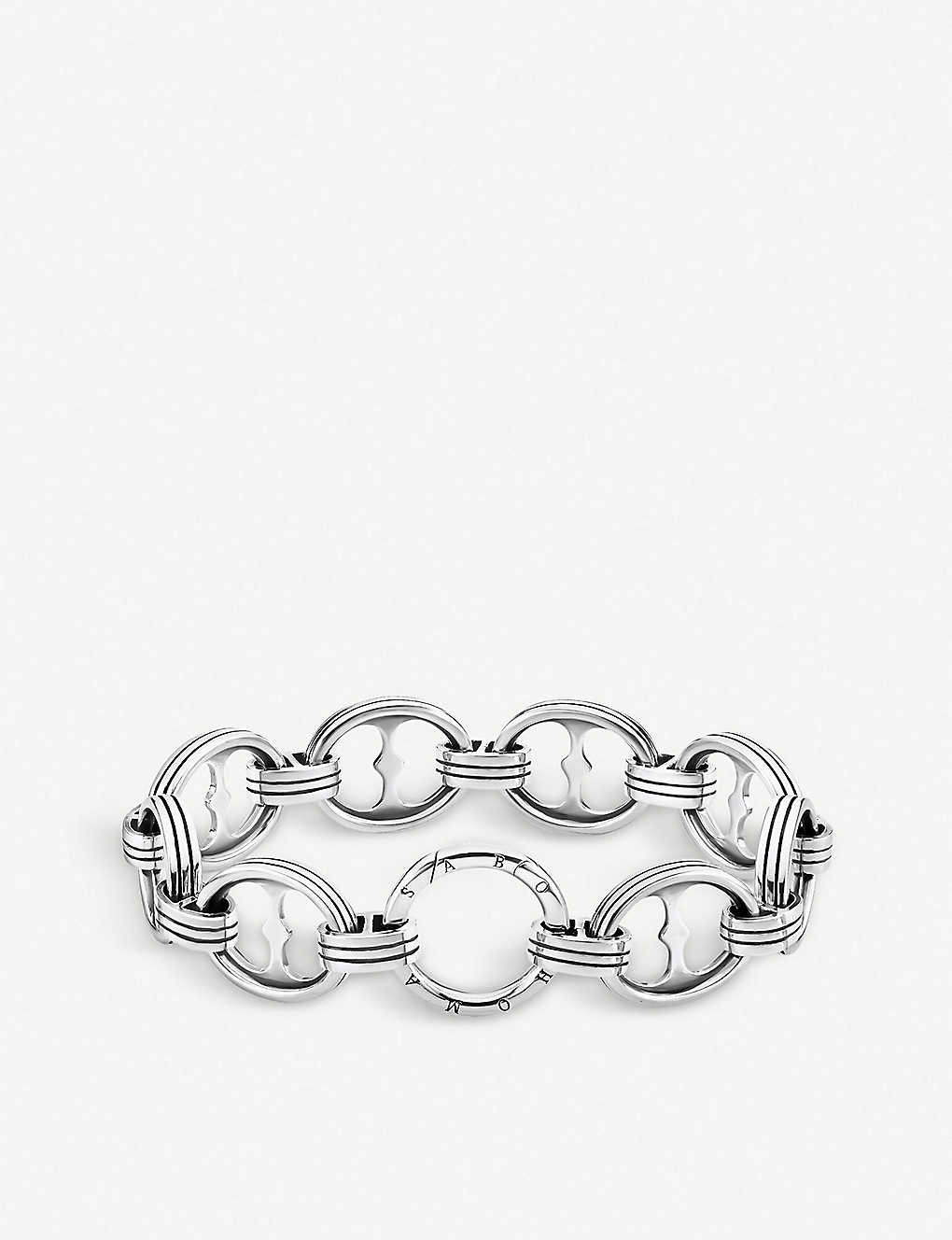 THOMAS SABO: Rebel at Heart XL chain sterling silver bracelet