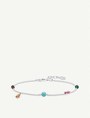 THOMAS SABO Paradise Colours sterling silver bracelet