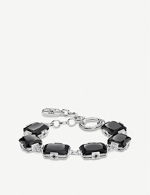 THOMAS SABO Black Magic onyx sterling silver bracelet