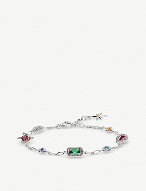THOMAS SABO Magic Stones Lucky Charms sterling silver bracelet