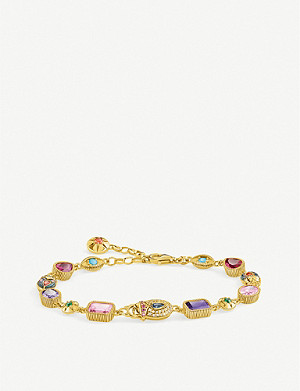 THOMAS SABO Lucky Charms 18ct yellow gold-plated bracelet