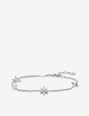 THOMAS SABO Magic Stars zirconia sterling silver bracelet