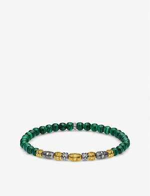 THOMAS SABO Lucky Charm gold-plated and sterling silver beaded bracelet