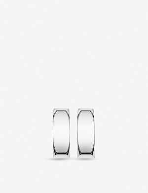 THOMAS SABO Minimalist silver hoop earrings