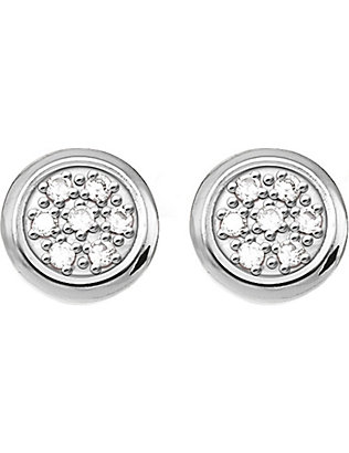 THOMAS SABO: Glam & Soul sterling silver and diamond earrings