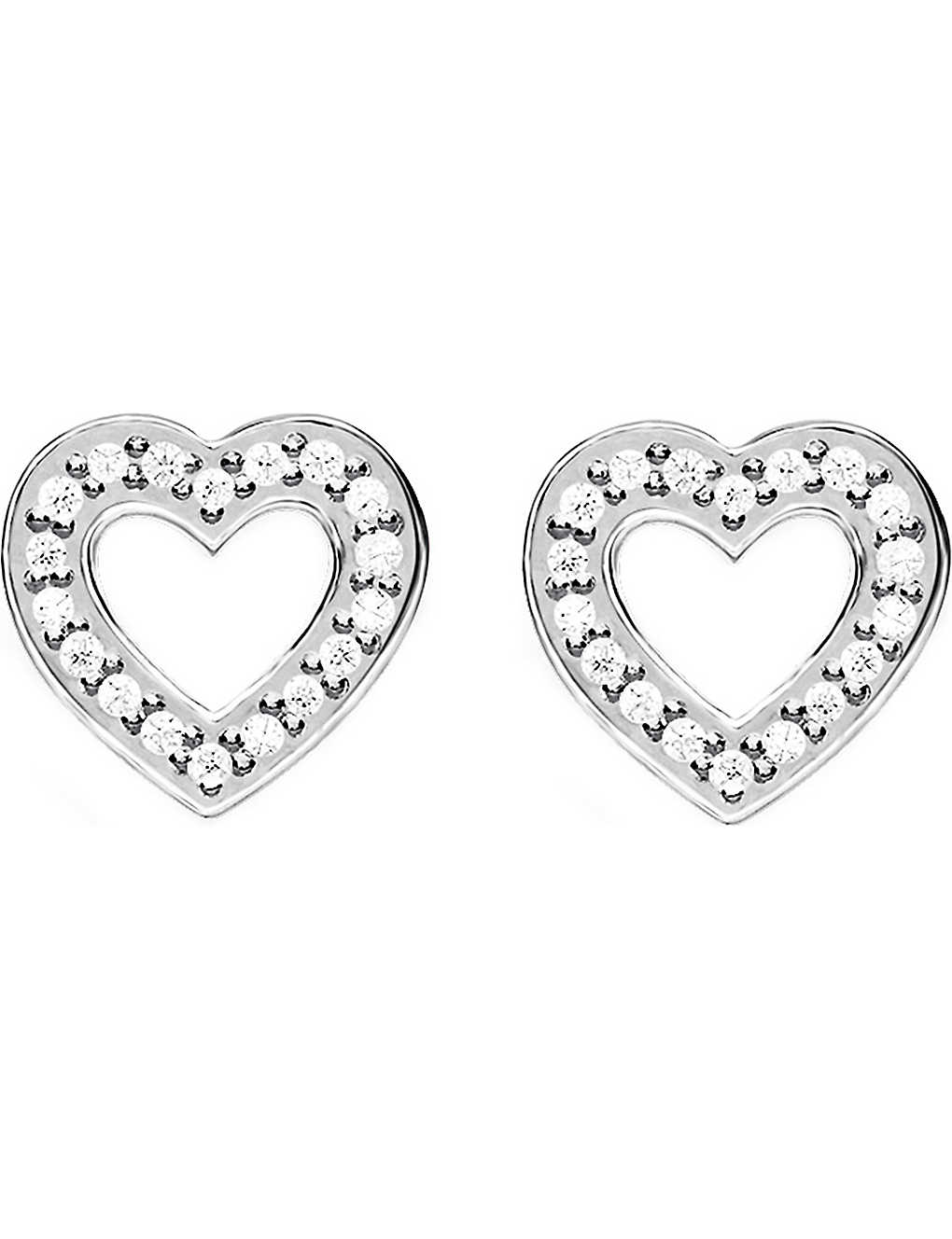 d2c5d7ea1 THOMAS SABO - Glam & Soul sterling silver and diamond earrings ...