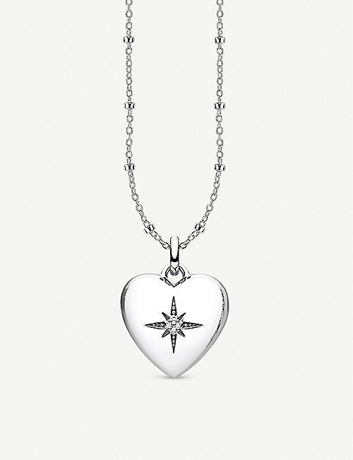 cc2f001e9c2 THOMAS SABO Glam   Soul heart-shaped sterling silver and diamond locket