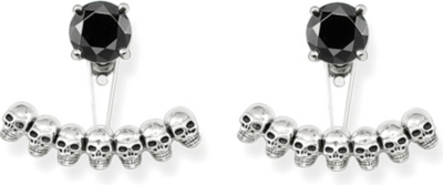 37b938803 THOMAS SABO - Sterling silver skull and black onyx ear jackets |  Selfridges.com