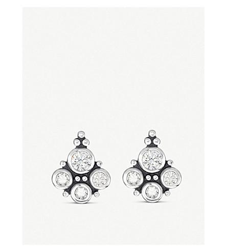 a59f1e41b THOMAS SABO Kingdom of Dreams glass-ceramic gemstones sterling silver ear  studs