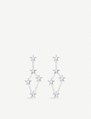 THOMAS SABO Zirconia and sterling silver earrings